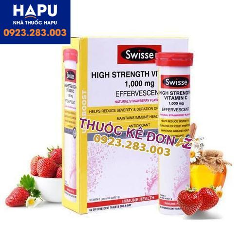 High Strength vitamin C giá bao nhiêu