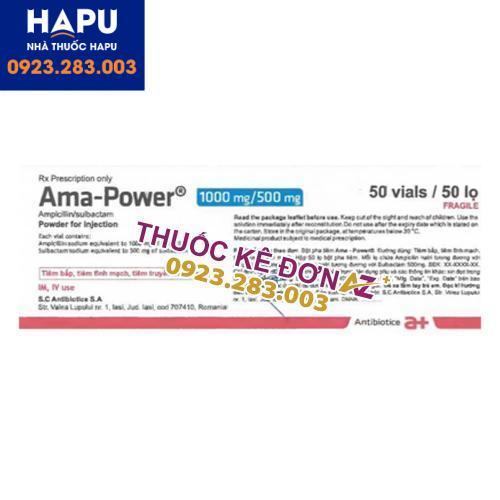Thuốc Ama power công dụng cách dùng