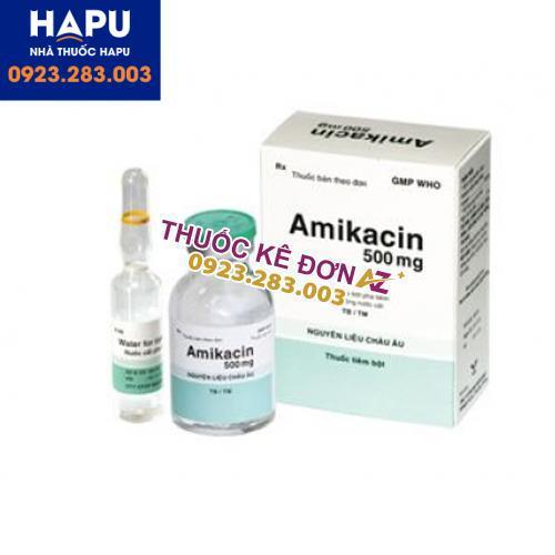 Thuốc Amikacin 500mg công dụng cách dùng