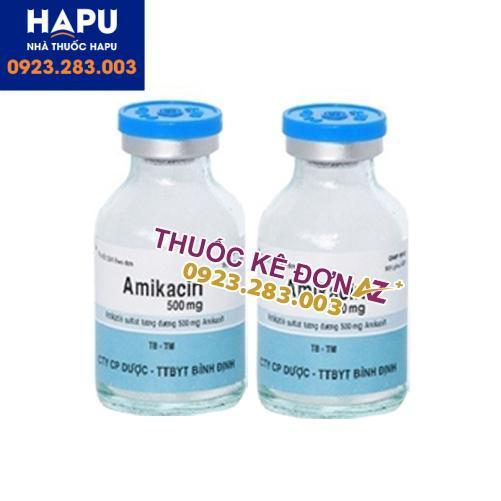 Thuốc Amikacin 500mg giá bao nhiêu