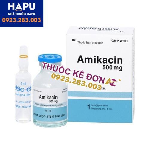Thuốc Amikacin 500mg mua ở đaua uy tín