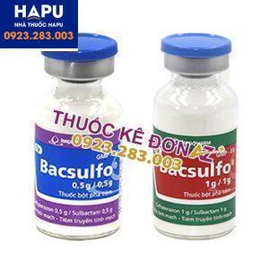 Thuốc Bacsulfo 1g/0.5g giá bao nhiêu