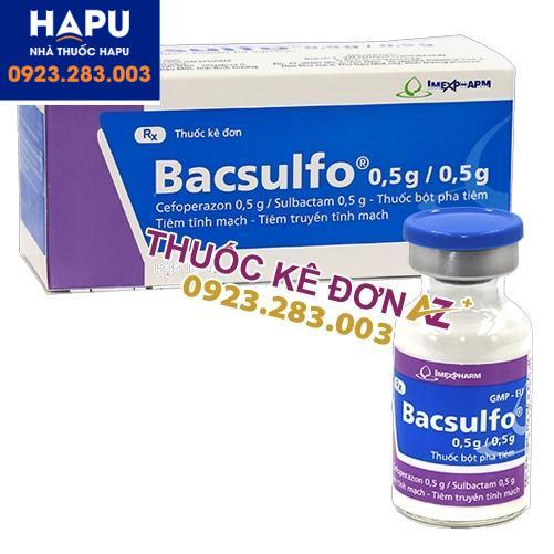 Thuốc Bacsulfo 1g/0.5g mua ở đâu uy tín