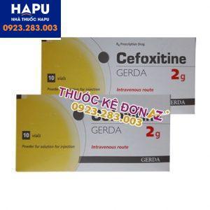 Thuốc Cefoxitin gerda 2g mua ở đâu uy tín