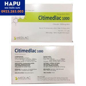 Thuốc Citimedlac 1000 mua ở đâu uy tín