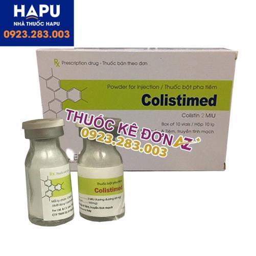 Thuốc Colistimed 2MIU mua ở đâu uy tín