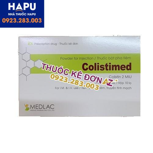 Thuốc Colistimed 2MIU giá bao nhiêu