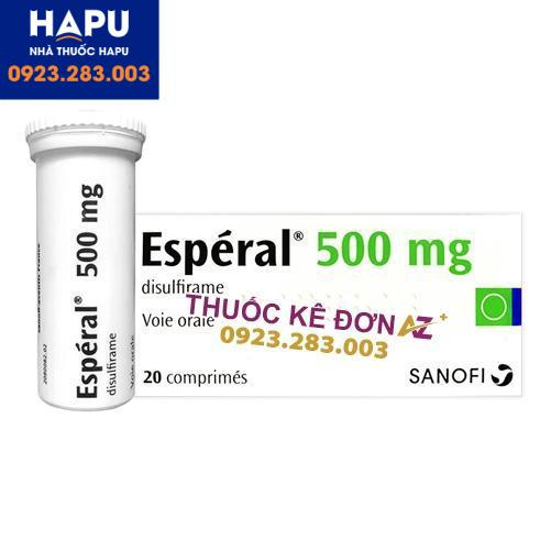 Thuốc Esperal 500mg công dụng cách dùng
