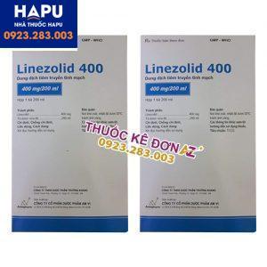 Thuốc Linezolid 400 công dụng cách dùng