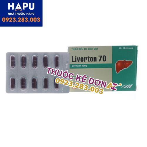 Thuốc Liverton 70 công dụng cách dùng