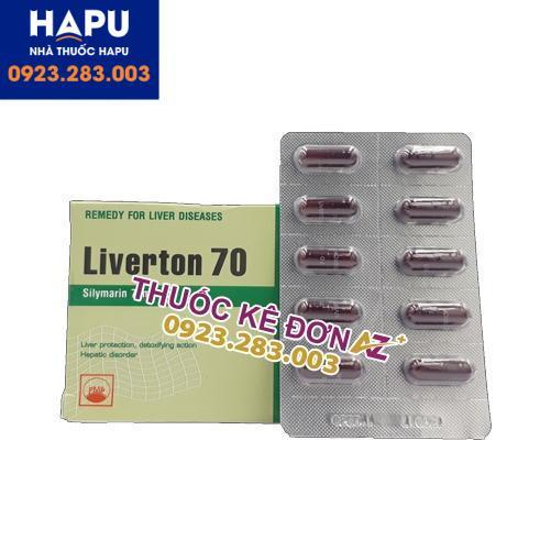 Thuốc Liverton 70 giá bao nhiêu