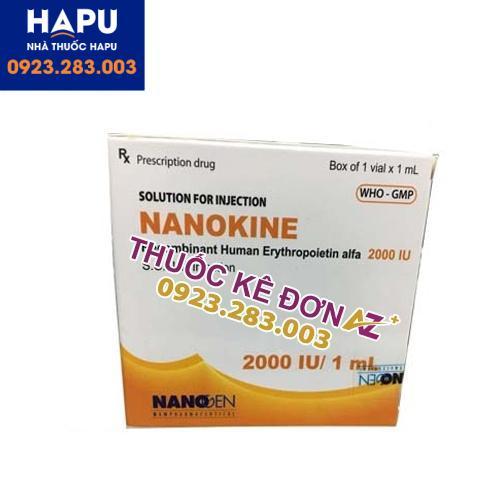 Thuốc Nanokine 2000IU cồn dùng liều dùng