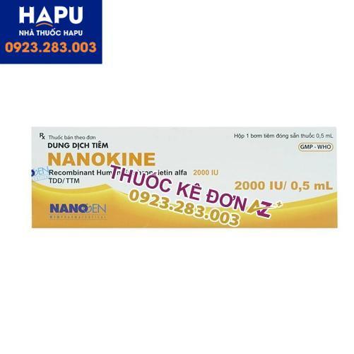 Thuốc Nanokine 2000IU mua ở đâu uy tín