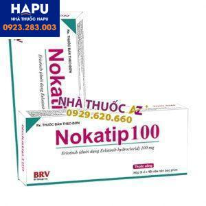 Thuốc Nokatip 100 giá bao nhiêu