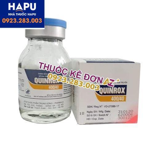 Thuốc Quinrox 400/40 giá bao nhiêu