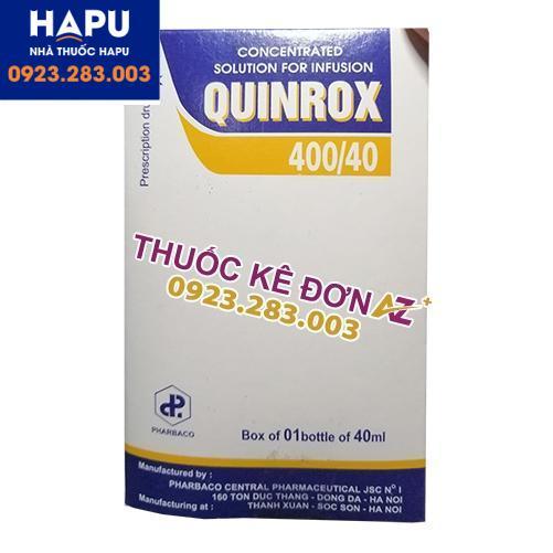 Thuốc Quinrox 400/40 mua ở đâu uy tín