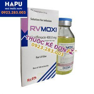 Thuốc Rvmoxi công dụng cách dùng