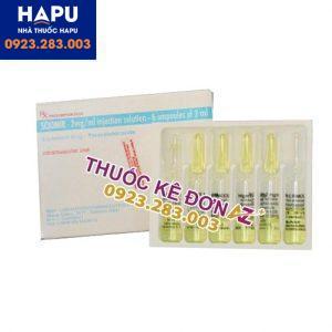 Thuốc Sciomir 2mg/ml công dung liều dùng