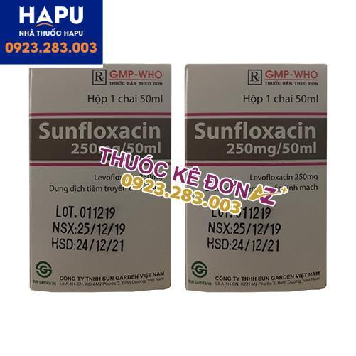 Thuốc Sunfloxacin 250mg/5ml mua ở đâu uy tín