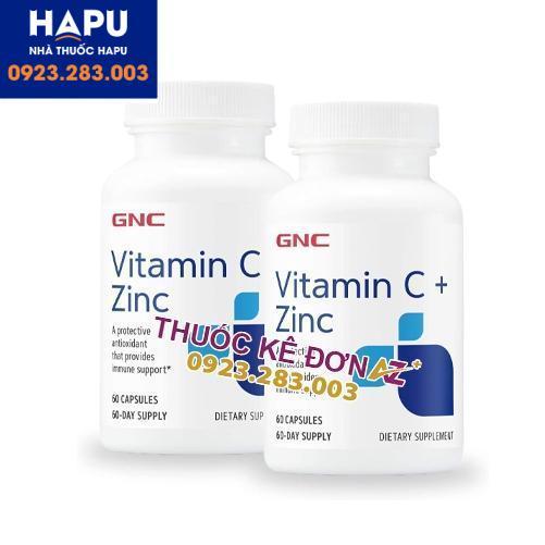 vitamin C 600mg + Zinc công dụng cách dùng