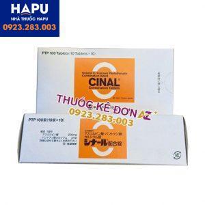 vitamin C Cinal công dụng cách dùng