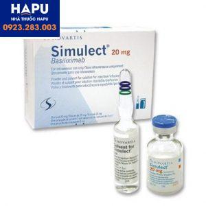 Thuốc Simulect 20mg giá bao nhiêu