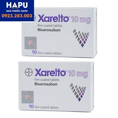 Thuốc Xarelto 10mg giá bao nhiêu