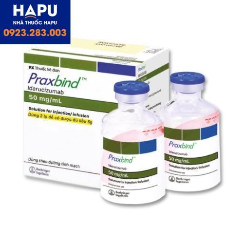 Thuốc Praxbind 50mg/ml giá bao nhiêu