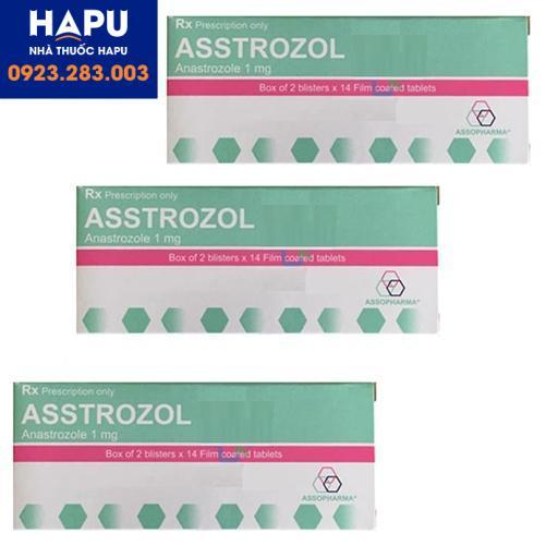 Thuốc Asstrozol giá bao nhiêu