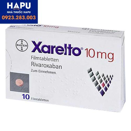 Thuốc Xarelto 10mg mua ở đâu uy tín