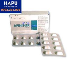 Thuốc Afinitor 10mg mua ở đâu uy tín