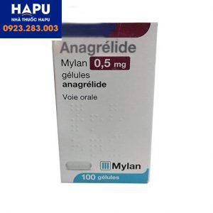 Thuốc Anagrelide 0.5mg công dụng cách dùng