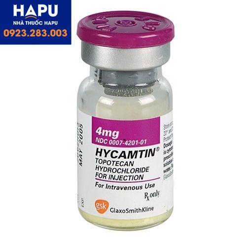 Thuốc Hycamtin 4mg công dụng cách dùng