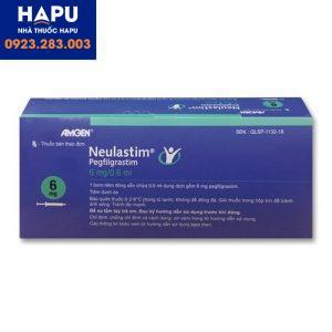 Thuốc Neulastim 6mg/0.6ml công dụng cách dùng