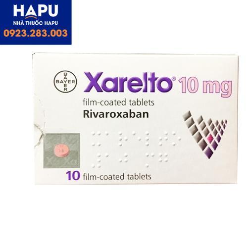 Thuốc Xarelto 10mg công dụng cách dùng