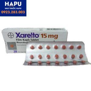 Thuốc Xarelto 15mg chỉ định công dụng