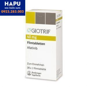 Thuốc Giotrif 40mg công dùng cách dùng dụng