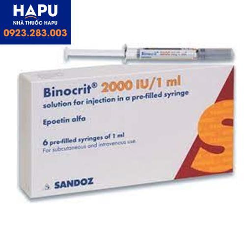 Thuốc Binicrit 2000 IU/1ml giá bao nhiêu