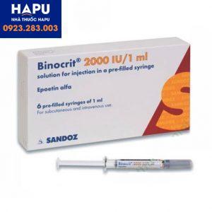 Thuốc Binicrit 2000 IU/1ml mua ở đâu uy tín