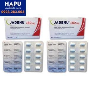 Thuốc Jadenu 180mg là thuốc gì