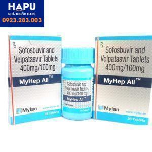 Thuốc Myhep All 400/100 giá bao nhiêu