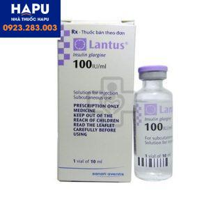 Thuốc Lantus 100UI/10ml mua ở đâu uy tín