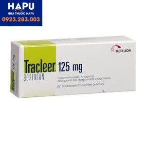 Thuốc Tracleer 125mg công dụng chỉ định